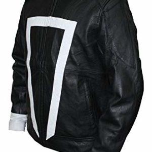 Agents of Shield Robbie Reyes & Gabriel Luna Biker Real Leather Jacket
