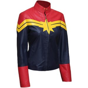 Captain-Marvel-Carol-Danvers-leather-Jacket