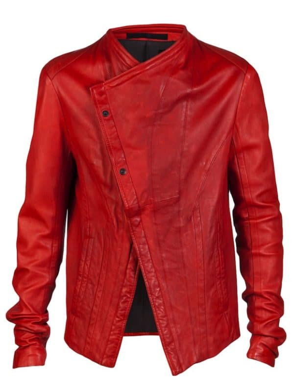 Jason-Derulo-wearing-Julius-Red-real-Leather-Biker-Jacket