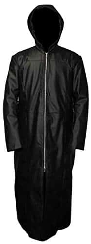 Organization XIII Coat- Enigma Long Trench Leather Coat