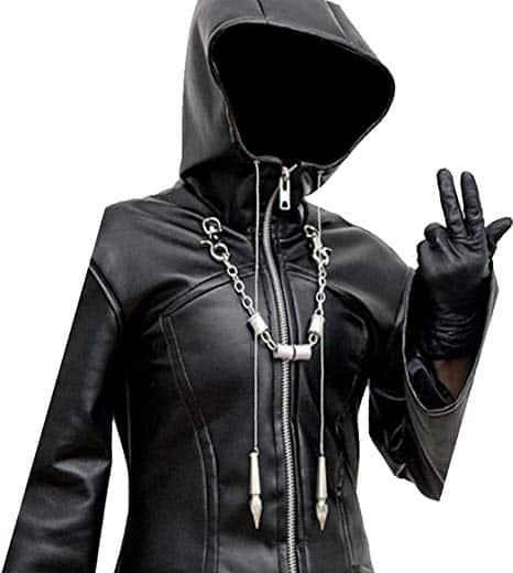 Organization XIII Enigma Long Trench Leather Coat