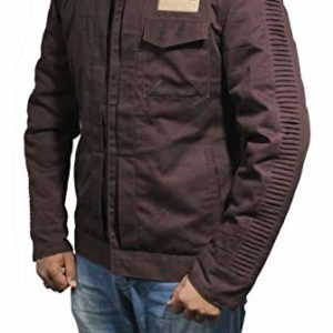 Rogue One Diego Luna Brown Cotton Jacket for Men