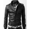 Slimfit-Rider-Leather-Jacket-black