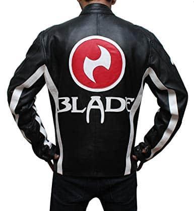 blade trinity black leather jacket