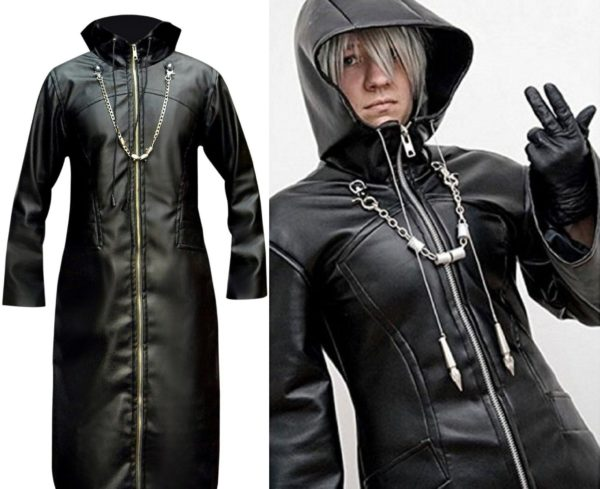 enigma long trench coat