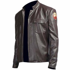 last jedi brown leather jacket