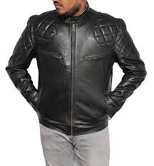David Beckham Brando Biker Leather Jacket