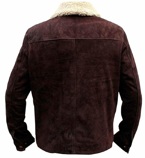 The-Walking-Dead-Rick-Grimes-Brown-Suede-Real-Leather-Jacket-Back