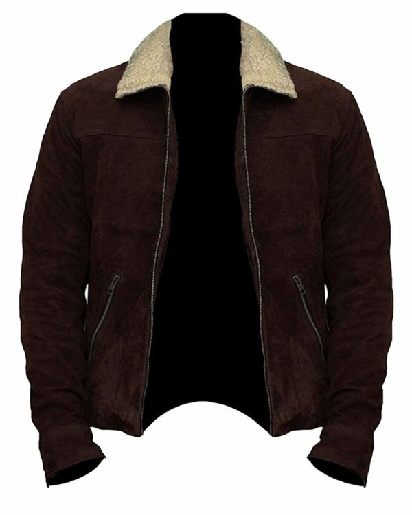 The-Walking-Dead-Rick-Grimes-Brown-Suede-Real-Leather-Jacket-Front