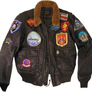 Tom-Cruise-Top-Gun-Pilot-Pete-Maverick-G1-Bomber-Leather-Jacket-front