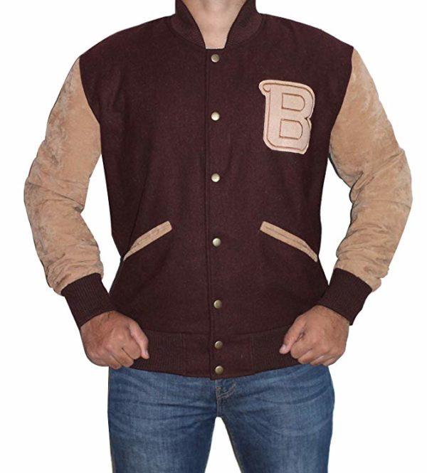 ayday 2 Hotline Miami Varsity Bomber Wool Jacket