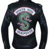 Woman Southside Serpent Riverdale Jughead Jones Cole Sprouse Leather Jacket Front