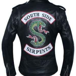 Woman Southside Serpent Riverdale Jughead Jones Cole Sprouse Leather Jacket Front