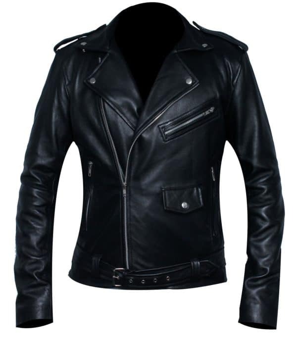 Woman Southside Serpent Riverdale Jughead Jones Cole Sprouse Leather Jacket Back
